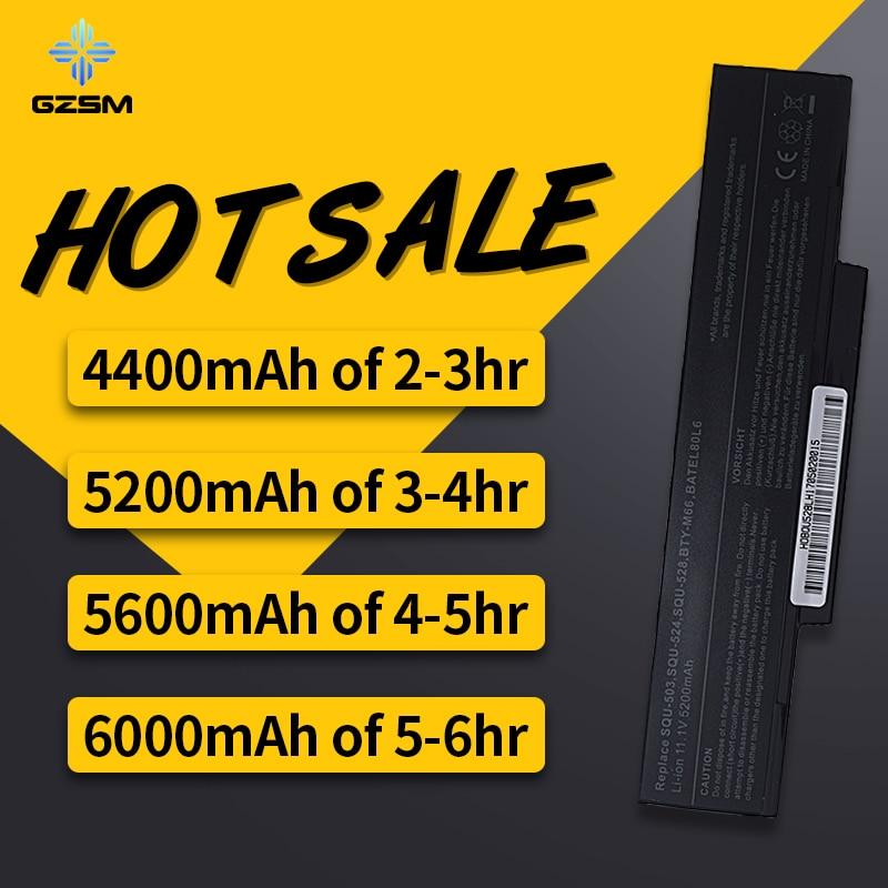 A HSW 6 T50 forGreatWall células de bateria do portátil, a Gigabyte W551N W566N W566U W468N W5661N 5661U SQU-528, SQU-524 bateria akku