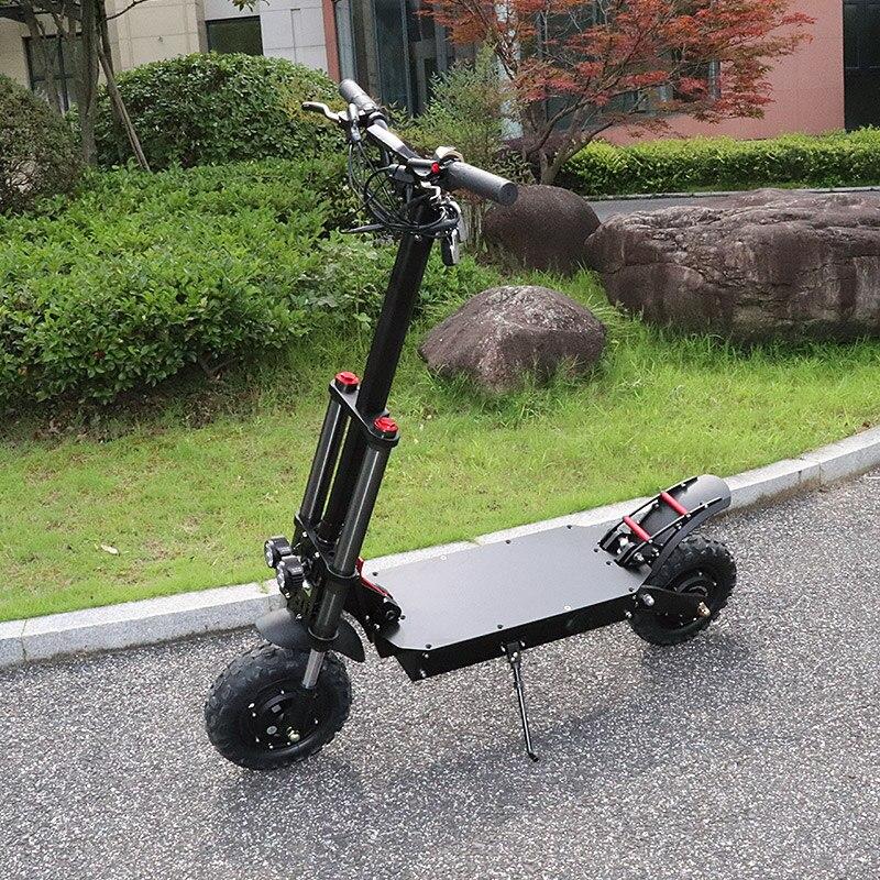 60V 3200W Scooter électrique 80 KM/H hors route électrique double moteur 60V 35A Samsung batterie 100KM Adulto Skateboard Patinete Eletrico