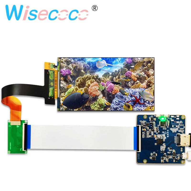 5.5 polegada tela de LCD 1440x2560 exibição LS055R1SX03 2 K com HDMI para MIPI placa controladora para 3d de Impressora peças do projetor