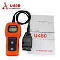 2016 U480 OBD2 CAN BUS/Двигатель Code Reader memoscan U480 код читатель U480 OBD2 OBDII Автомобиля или Грузовика АВТО Диагностический Сканер Двигателя
