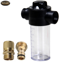 OPRQ Watering Can High Pressure Car Wash Water Gun Foam Pot Independent Switch Spray Control Tool 100ML