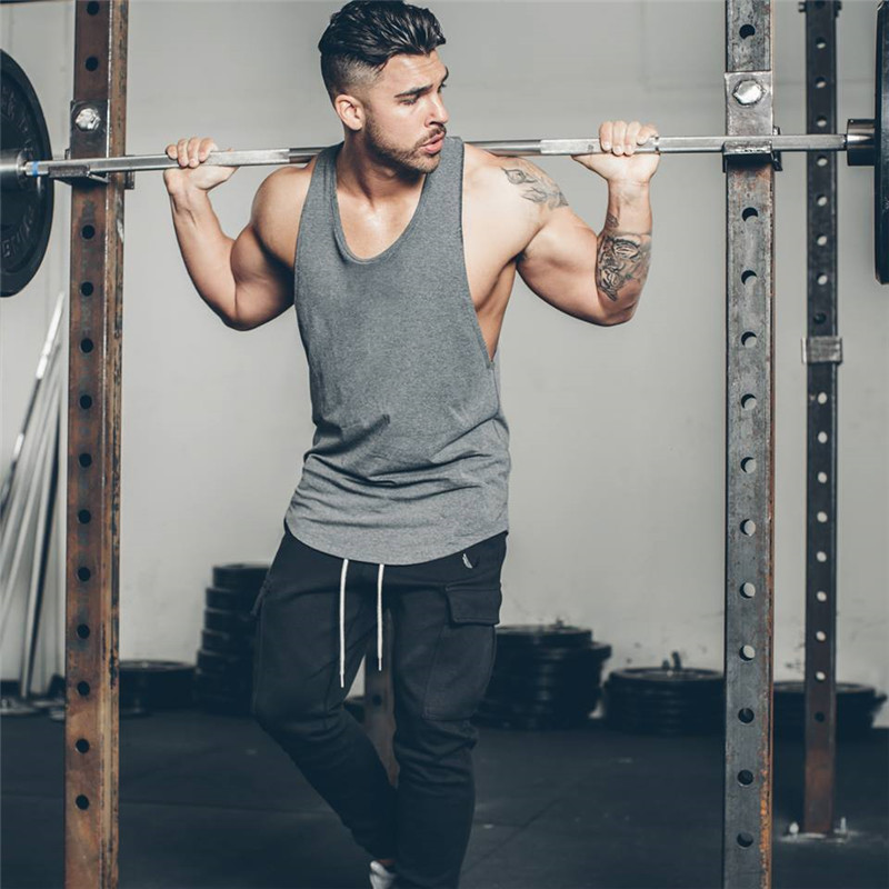 men fitness T-shirt