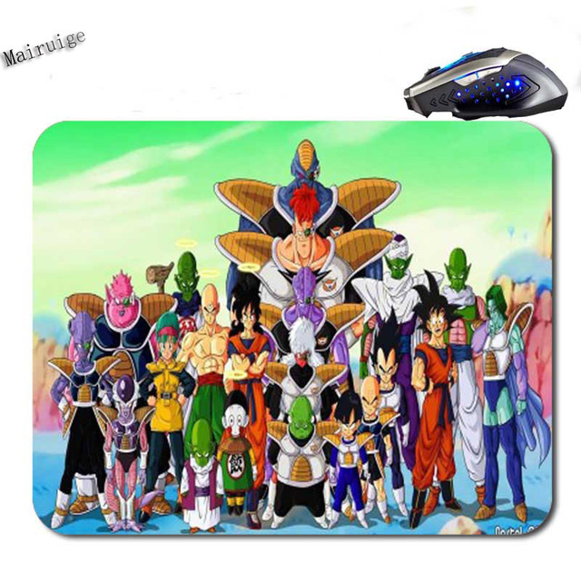 Dragon Ball Z Notebook Gaming Rubber Mouse Pad