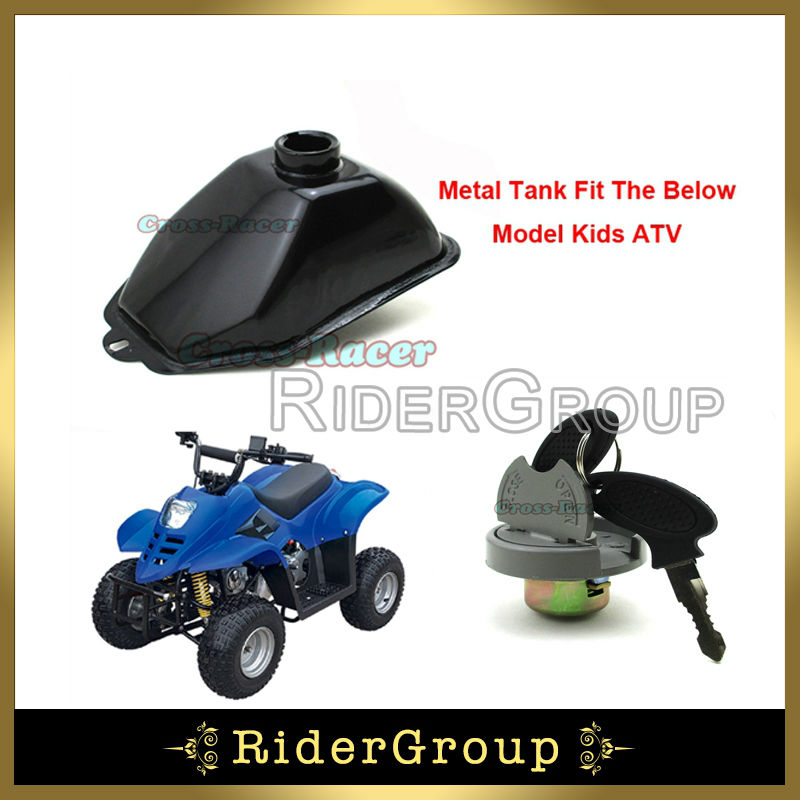 metal gastank fuel cap for chinese atv kids quad 50cc. Black Bedroom Furniture Sets. Home Design Ideas