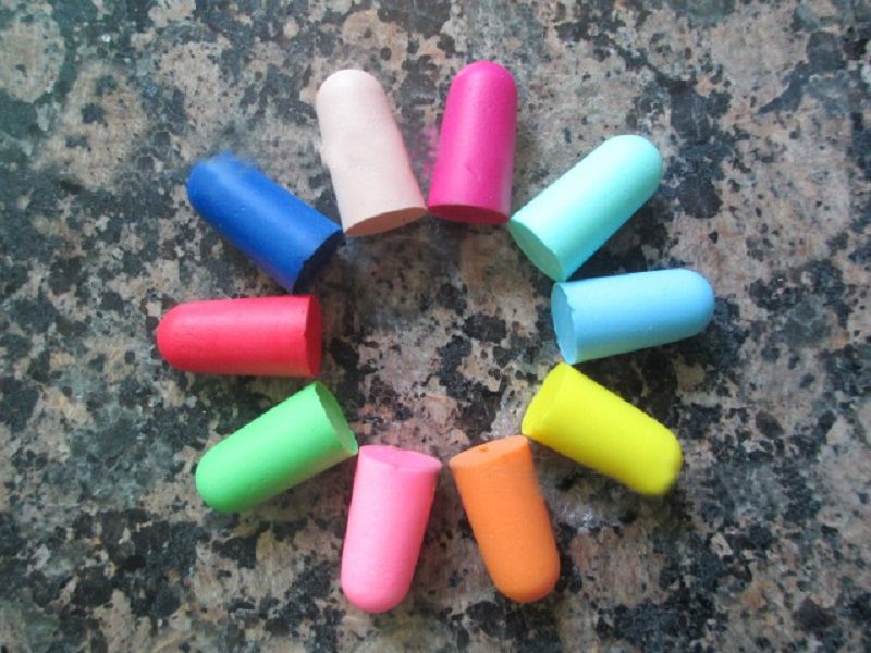 10Pairs Boutique Comfort Noise Reduction Earplugs Noise Reduction Foam Soft Ear Plugs Protective For Sleep Slow Rebound Earplugs