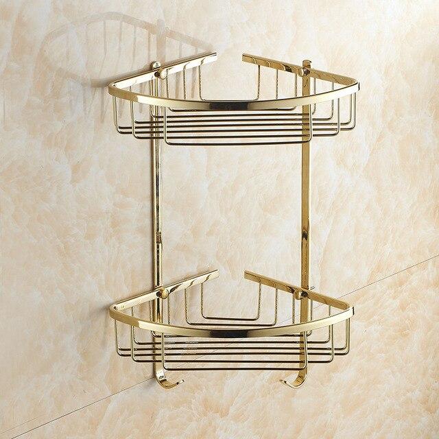 AUSWIND Kupfer zirkon gold farbe doppel dreieck korb badezimmer ...