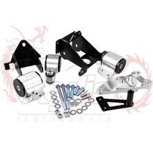 Kylin store-- New arrived Racing Motor Engine Swap Mount Kit For HONDA CIVIC 06-11 SI 70A ea035(China)