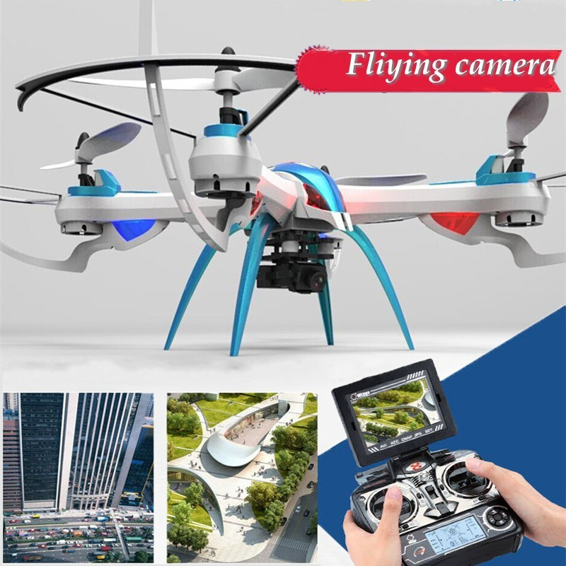 YIZHAN Tarantula X6 WIFI FPV 5.8GHz Real Time 5MP HD Camera RTF Drone 4CH Quadcopter RC Helicopter Free Shipping original yizhan tarantula x6 fpv gropo