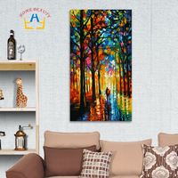 40 80cm Large DIY Oil Painting By Numbers Coloring Drawing Wall Decor Paint By Number Hand