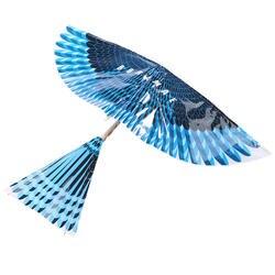 DIY летающая птица Braining обучение навыки обучение открытый игрушка собрать резинкой мощность Летающий воздушный змей интеллектуал