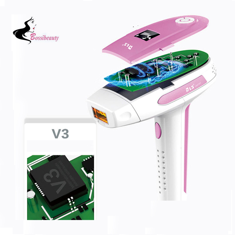 NEWEST Light-Based IPL Hair Removal System Face And Full Body Permanent Hair Removal Device For Face Care Tool newest light based ipl hair removal system face and full body permanent hair removal device for face care tool