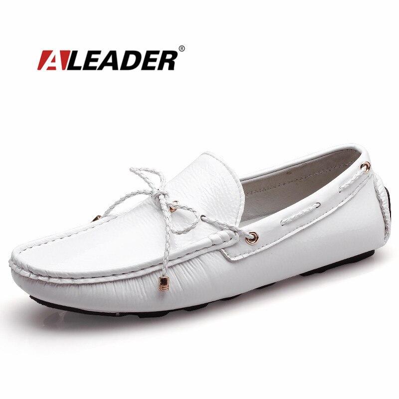 Mens Casual Zapatos Mocasines Nuevo 2017 Otoño hombres Zapatos de Conducción Moc