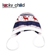 Чепчик Lucky Child с начёсом для девочек и мальчиков, арт. 10-10f (Скандинавия) [сделано в России, доставка от 2-х дней]