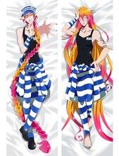 Japan Anime printed Dakimakura cover detentionhouse Nanbaka pillowcase Hugging Body Pillow Cover cartoon cases pillowslip