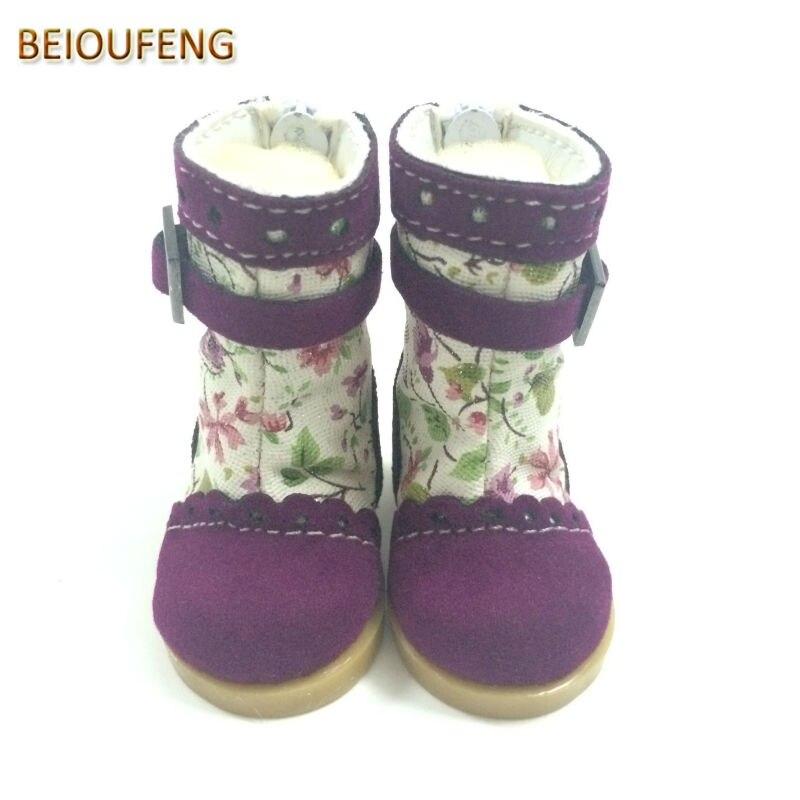 Un par de 1/6 BJD Doll Shoes 5 CM Causal Sneakers Zapatos para BJD - Muñecas y accesorios - foto 2