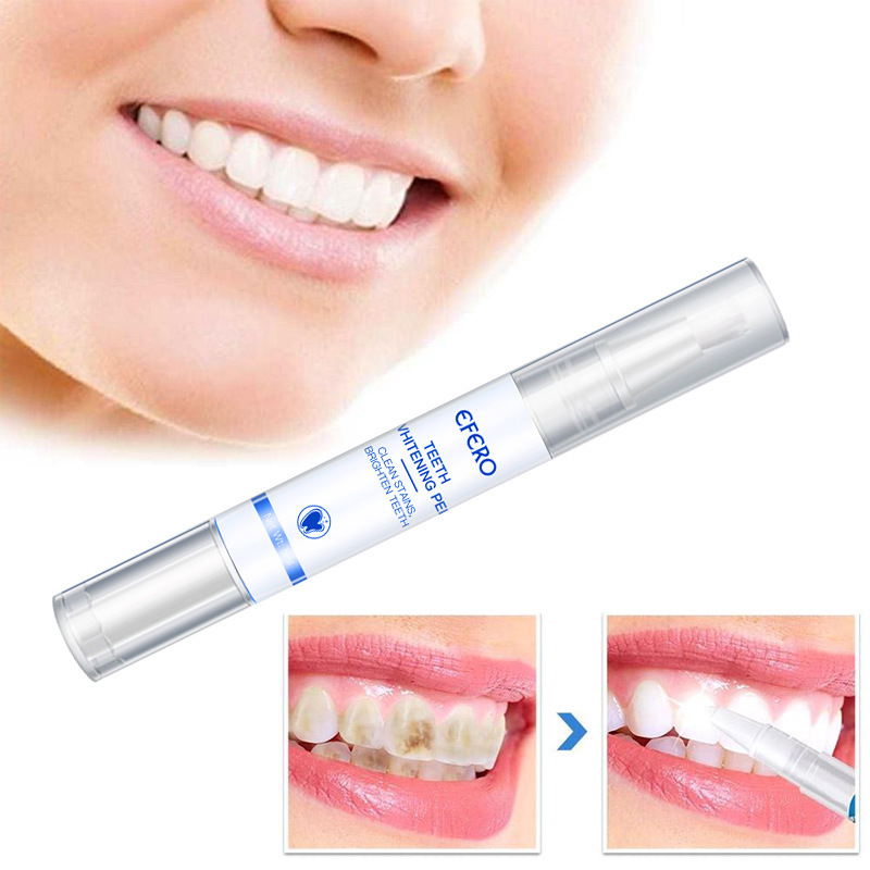 Popular White Teeth Whitening Pen Tooth Gel Whitener Bleach Remove Stains Oral Hygiene Teeth Whitening Tools HOT SALE  TSLM1