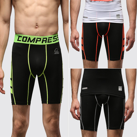 1080a08f054 summer men s compression boxers shorts quick dry shorts men spandex sport  trainning running basketball sports underwear V201511