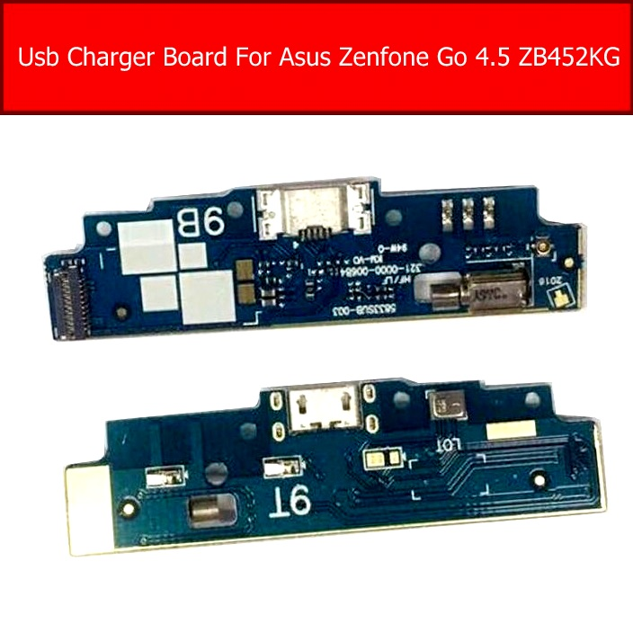 Genuine USB Charging Jack Dock Board For ASUS Zenfone GO 4.5 ZB452CG ZB452KG X014D USB Charger Flex Ribbon Cable Replacement