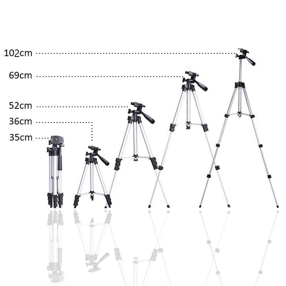 Universal Tragbare Stativ für Kamera Telefon mit Halter Telefon Clip Flexible Kamera Zubehör Reise Aussenfotografische Selfie