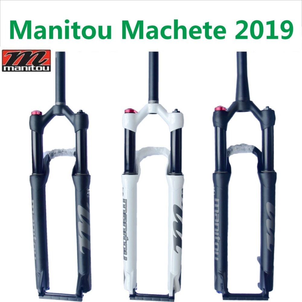 Garfo de bicicleta manitou marvel comp machete 27.5 29er garfos ar tamanho mountain mtb garfo suspensão pk para sr suntour 2019