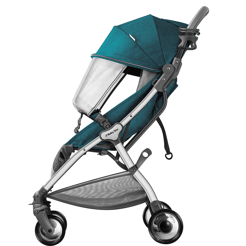 Lightweight baby stroller can sit reclining ultra light folding baby carriage 0-3 years old universal can be on the plane  : 91lifestyle