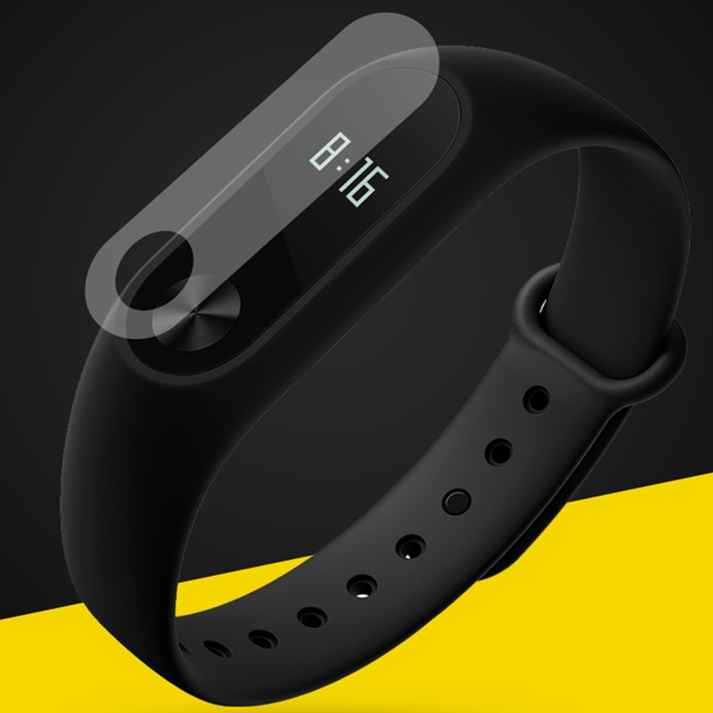 XINYUANSHUNTONG 1Pc Screen Protector HD Film Anti-Scratch Screen Protector For Xiaomi Miband 2 Smart Strap Wristband