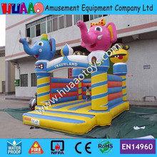 Elephant and Monkey Animal Inflatable Bouncer (Free CE blower+repair kit)