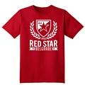 Red Star Belgrade Serbia T Shirt red home Camiseta Crvena Zvezda club Marko Petkovic dragan stojkovic T-shirt Miodrag Bozovic