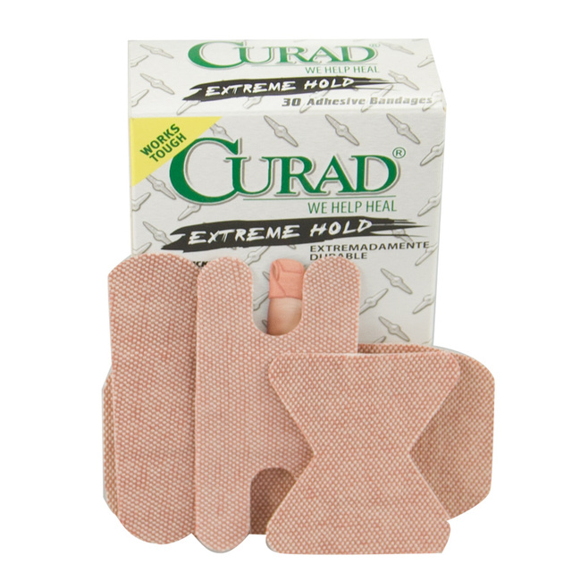 Breathable 90 Pcs/3Boxes Four Sizes Assorted Extreme Hold Adhesive Bandages Hemostasis Band aid Cover Any Wound