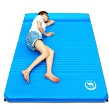 Kamel Faltbare Camping Matte 2 Person Luftmatratze Kissen Matte Im Freien Feuchtigkeits Yoga Schlaf Pat Ultraleichtflugzeuge Im Freien Matte