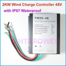 1000 Вт 1500 Вт 2000 Вт ветрогенератор контроллер заряда 48V 24V ветряной генератор регулятор заряда аккумулятора Водонепроницаемый IP67