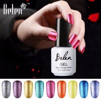 Belén 7ml UV platino Gel brillante uñas de Gel polaco Gel con protección UV de larga duración Gel para uñas remoje-LED UV Color esmaltes de uña en Gel