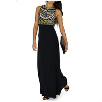 Sexy Women Boho Maxi Club Dress Red Bandage Long Dress Party Multiway Convertible Infinity Party Dress