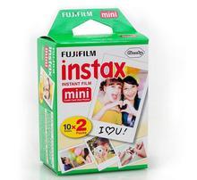 100% Оригинальные 20 штук Fujifilm Fuji Instax Mini Мгновенный фильм белый край для 7 s 8 10 20 25 50 s 50i SP1 DW мини мгновенный Камера