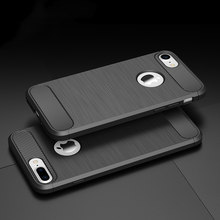 Cyato Phone Case for iPhoen X Gel Soft Case Bumper On the for iPhone 5 5s SE 6 6s 7 8 Plus X Case TPU Silicone Back Cover Shell(China)