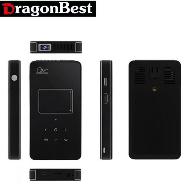5 шт. U9 Мини Карманный Проектор DLP Поддержка HD 1080 P 1/8 Г 2800lumens 2000:1 ДЛЯ Android 4.4.2 Система СО Встроенным 3000 МАч батареи