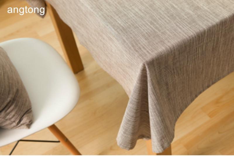 יפן סגנון מוצק צבע כותנה פשתן אוכל בד שולחן תה שולחן ספת כיסוי בד T287
