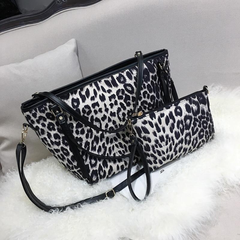 Cinto de Ombro Leopardo Pequenas 2019 Inverno New