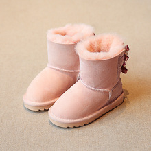 Everweekend Girls Bow Candy Color Rain Boots Sandals Cute