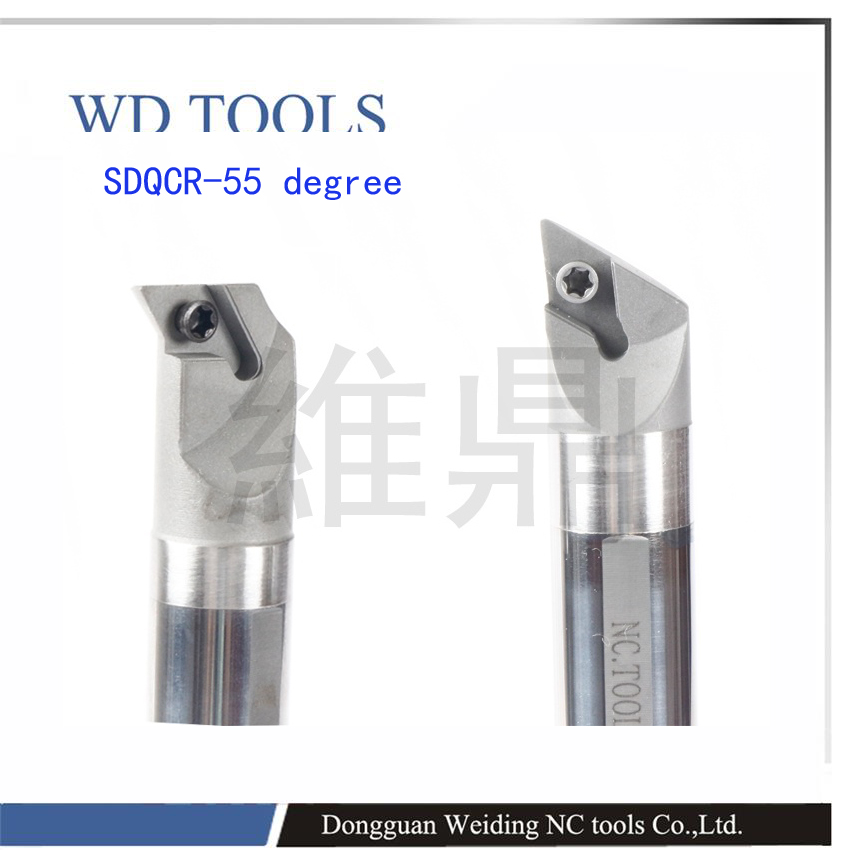 FREE SHIPPING 80 degree DC**11T3 insert 40mm internal Turning Tool Factory Outlets,sdqcr11 boring Bar lathe machine boring bar solid carbide c12q sclcr09 180mm hot sale sclcr lathe turning holder boring bar insert for semi finishing
