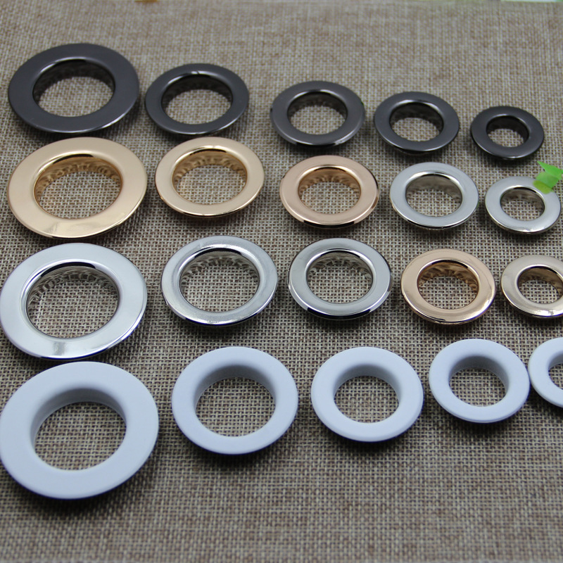 Eyelets And Grommets Colthes Accessories Factory Direct Sales Support Retail Wholesale 20mm 22mm 25mm 26mm Inside Diameter