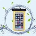 Supersello subacuática impermeable teléfono móvil case bolsa bolsa para el iphone 4s 5s 5c se 6 6 s 7 plus para samsung galaxy s4 s5 s6 s7