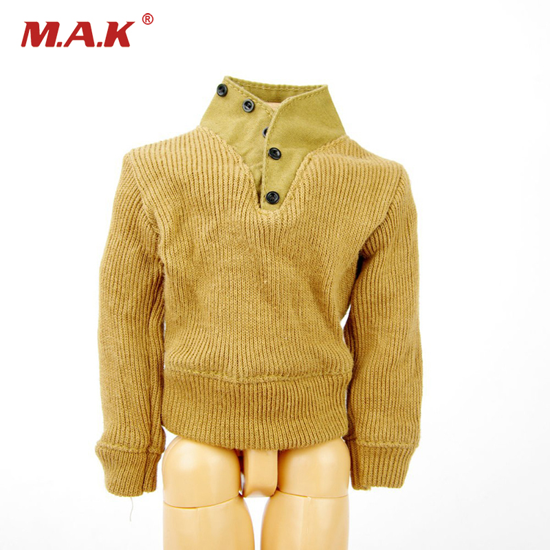 1/6 Military Sweater Soldier Sweater Clothes For 12 inches Male Action Figure Accessories 1 6 sovereign military knights of malta ancient medieval soldier action figure model collections