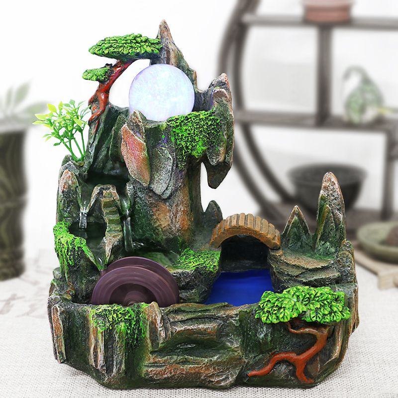 envo gratis fortuna waterscape decoracin miniascape fuente de agua de interior feng shui colofonia lugar