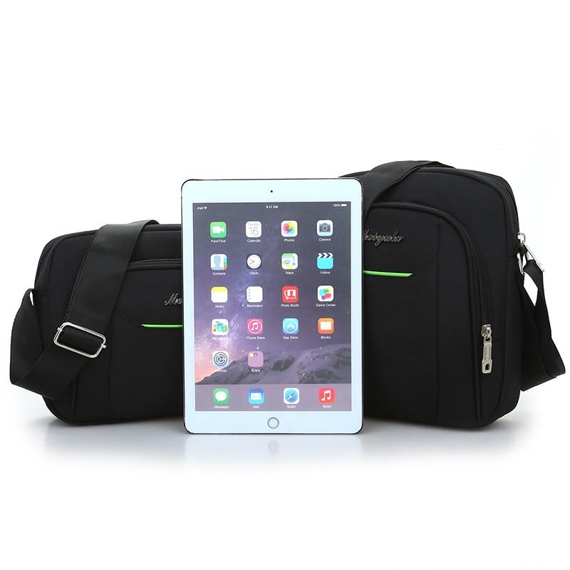 Black Business Messenger Bag Contracted Joker Unisex Crossbody Bag More Zippers Large Capacity Flap Bag Preppy Style Leisure Bag 5