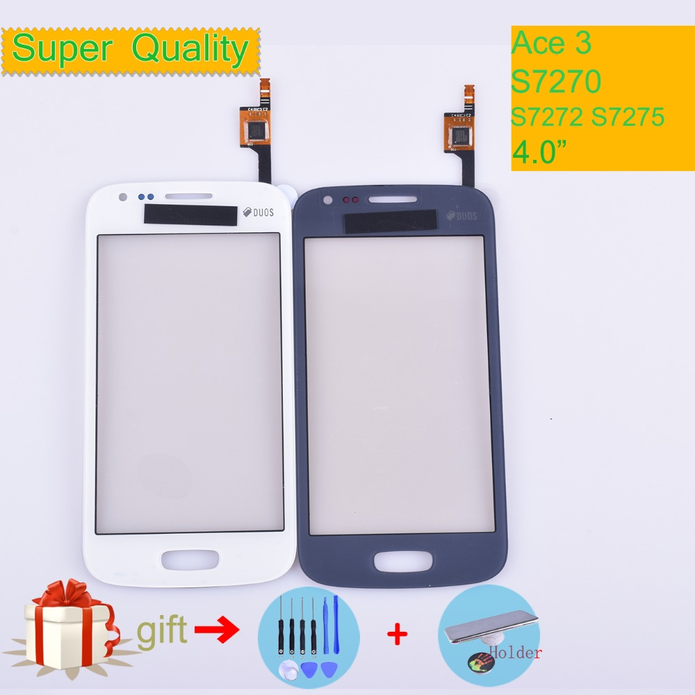 For Samsung Galaxy Ace 3 S7270 S7272 S7275 GT-S7272 Touch Screen Panel Sensor Digitizer Front Glass Outer Lens Touchscreen