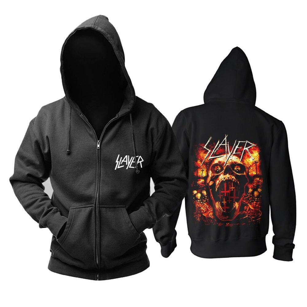 Bande de tueur de sang Heavy Metal vitesse métal mode noir top mucis capuche taille asiatique-in Sweats à capuche et sweat-shirts from Vêtements homme    2