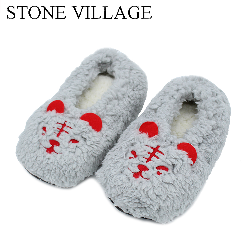 New Arrival Home Slippers 4 Colros Warm Soft Cute Animal Women Slippers Indoor Home Floor Cartoon Slippers Winter Warm Shoes 2017 new home slippers women emoji soft cute cartoon slippers for women winter warm plush indoor home shoes winter soft cotton