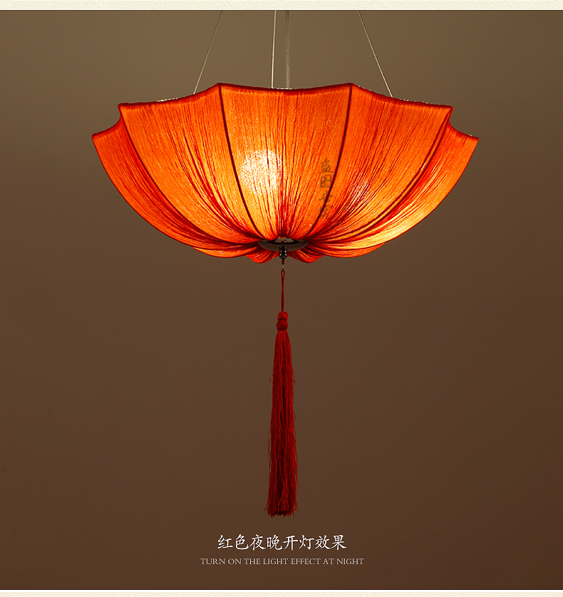 Chinese cloth classical imitation cloth umbrella pendant lamp lantern Restaurant balcony aisle Club Creative umbrella ZS136 dia 84cm chinese handmade red plum blossom oil paper umbrella ancient waterproof sunshade parasol decoration gift dance umbrella
