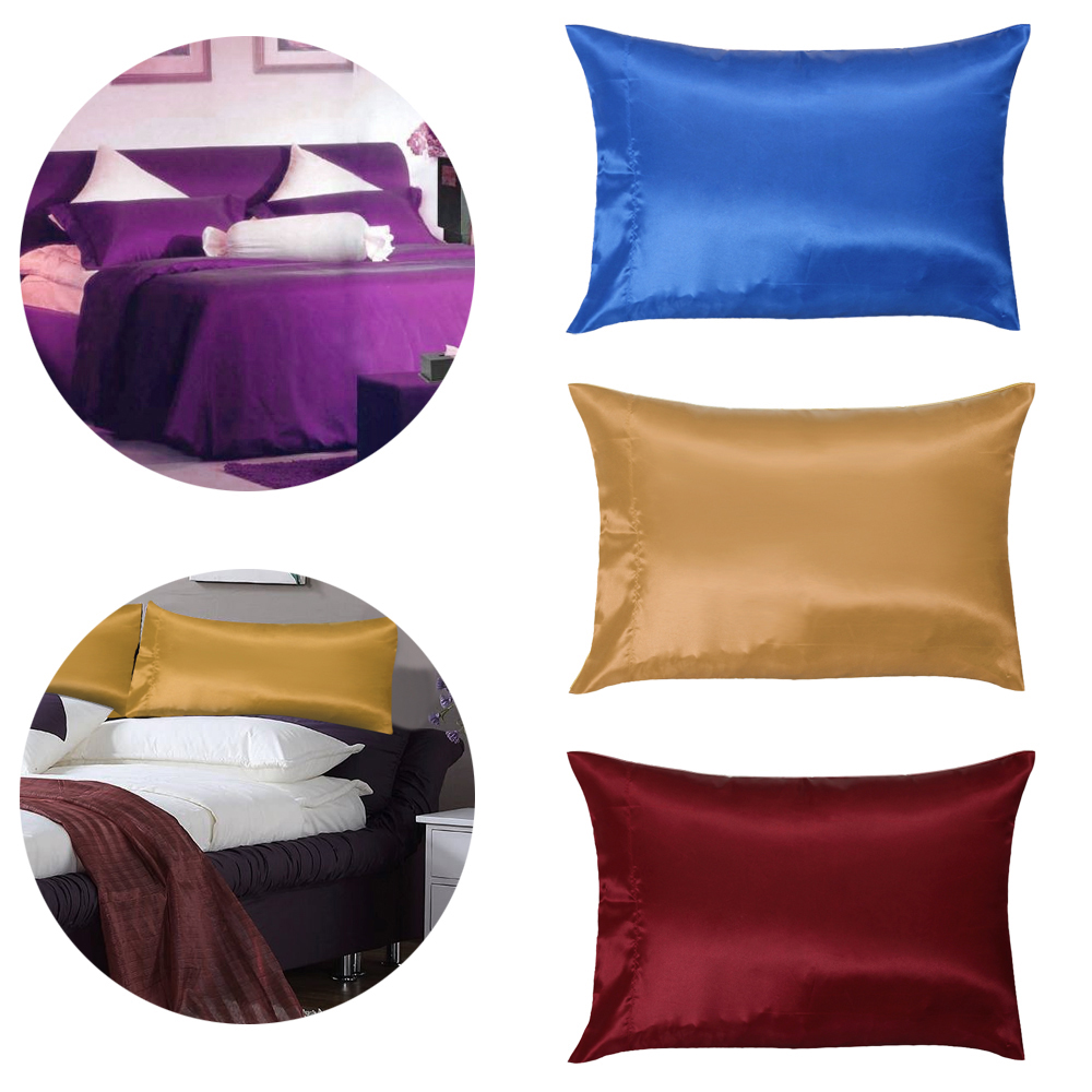 1pc Hot Sell 50 76cm Soft Pure Mulberry Silk Pillow Case